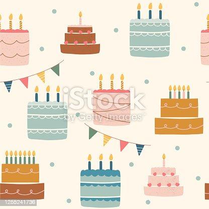 Birthday cakes.