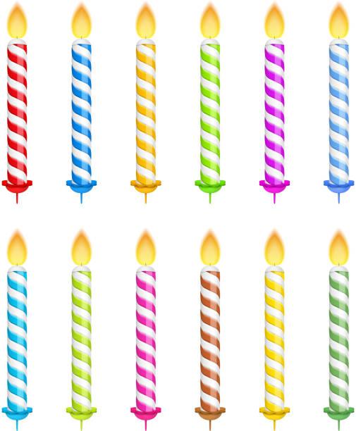 Bougie d'anniversaire - Illustration vectorielle