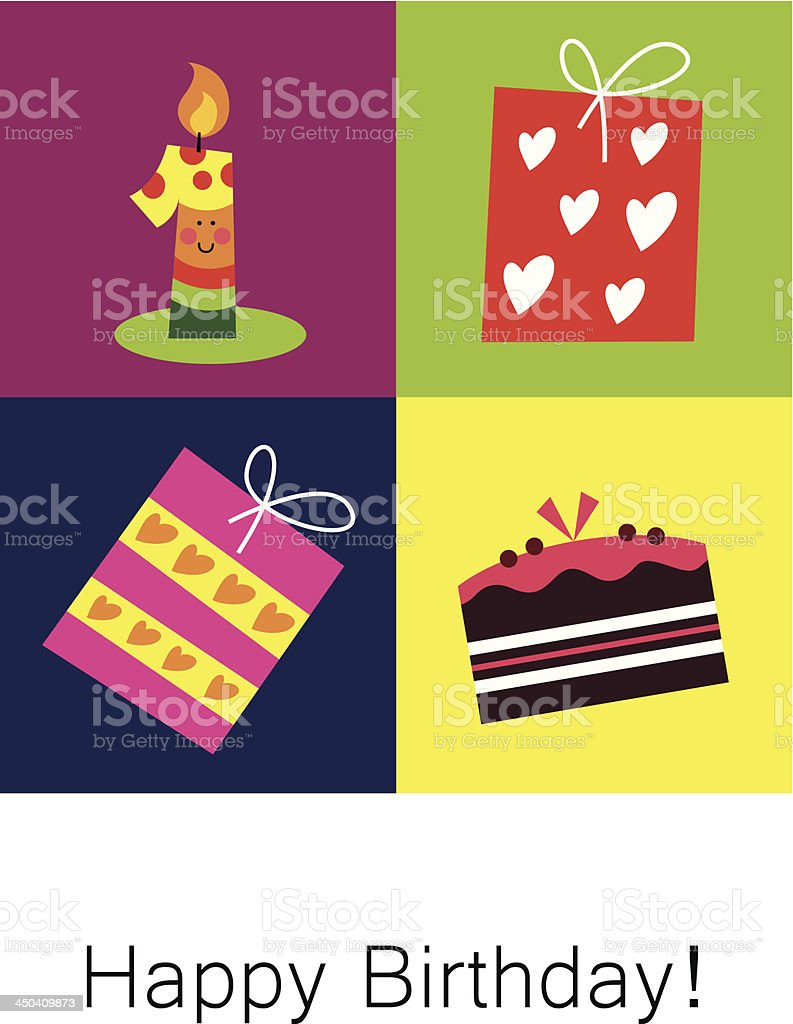 Birthday card royalty-free birthday card stock vector art & more images of 12-23 months
