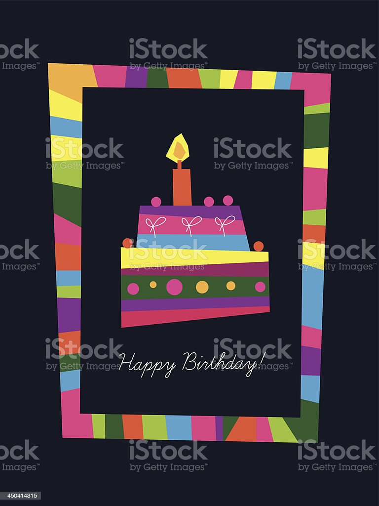 Birthday card royalty-free birthday card stock vector art & more images of abstract