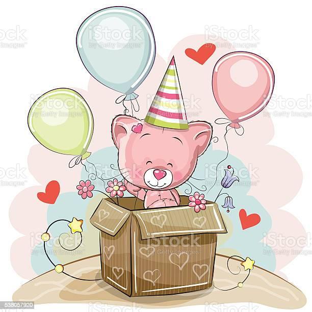 Birthday card with cute kitten vector id538057920?b=1&k=6&m=538057920&s=612x612&h=lyridzy9oa7jr5tt9xjxxf1qlndpgm8ghk7hwzxixlq=