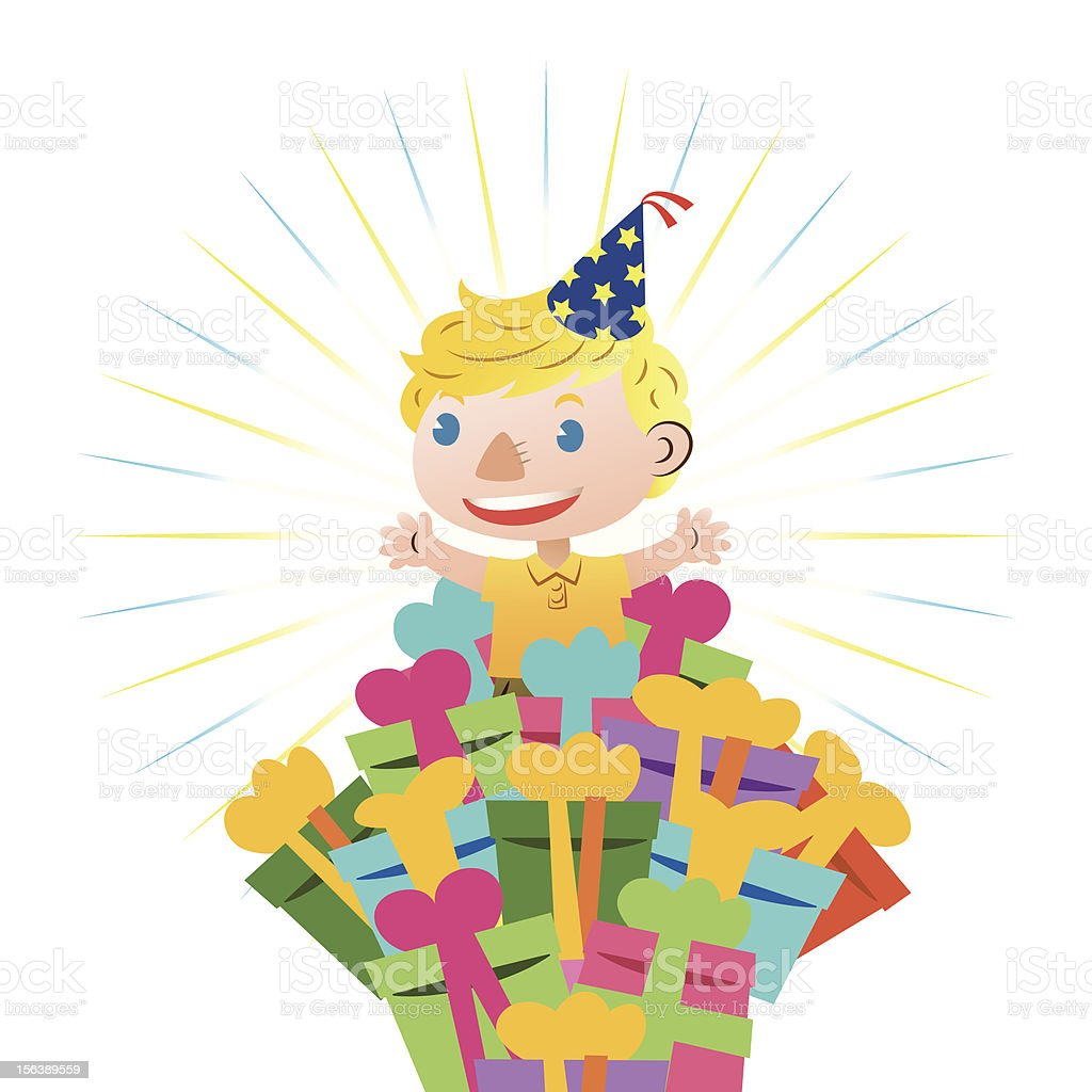 birthday card with lovely boy royalty-free birthday card with lovely boy stock vector art & more images of birthday