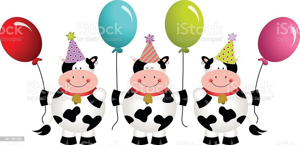 birthday 牛に風船 2015年のベクターアート素材や画像を多数ご用意