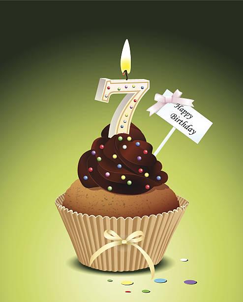Happy 7th Birthday Illustrations, Royalty-Free Vector ... (494 x 612 Pixel)