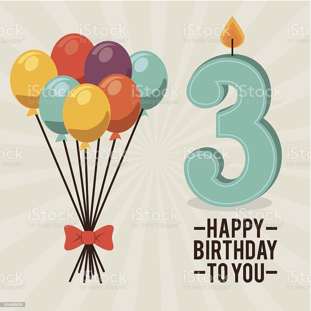 Birthday design royalty-free birthday design stock vector art & more images of balloon