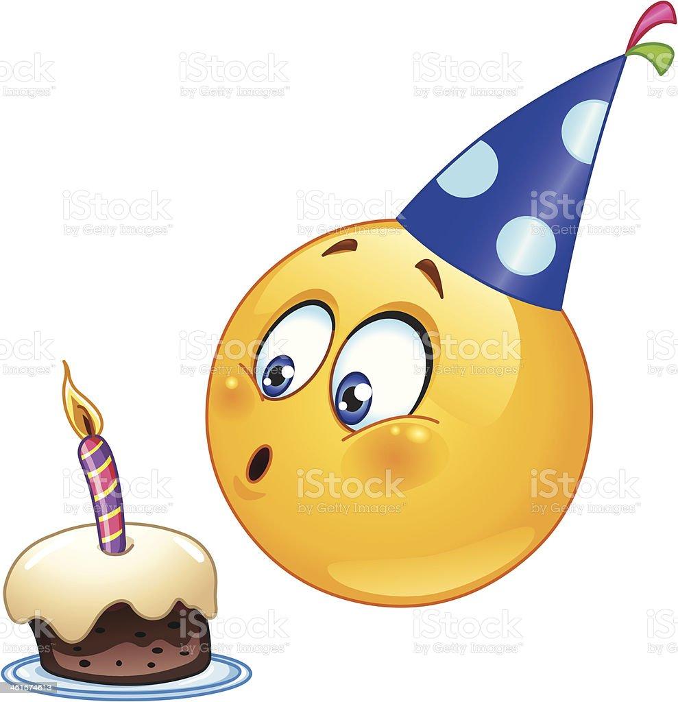 Geburtstag Emoticon Stock Vektor Art Und Mehr Bilder Von Blasen