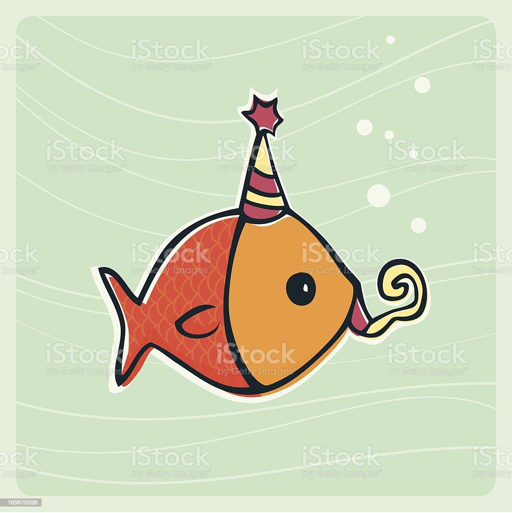 С днем рожденья открытки рыбы, для учителя
