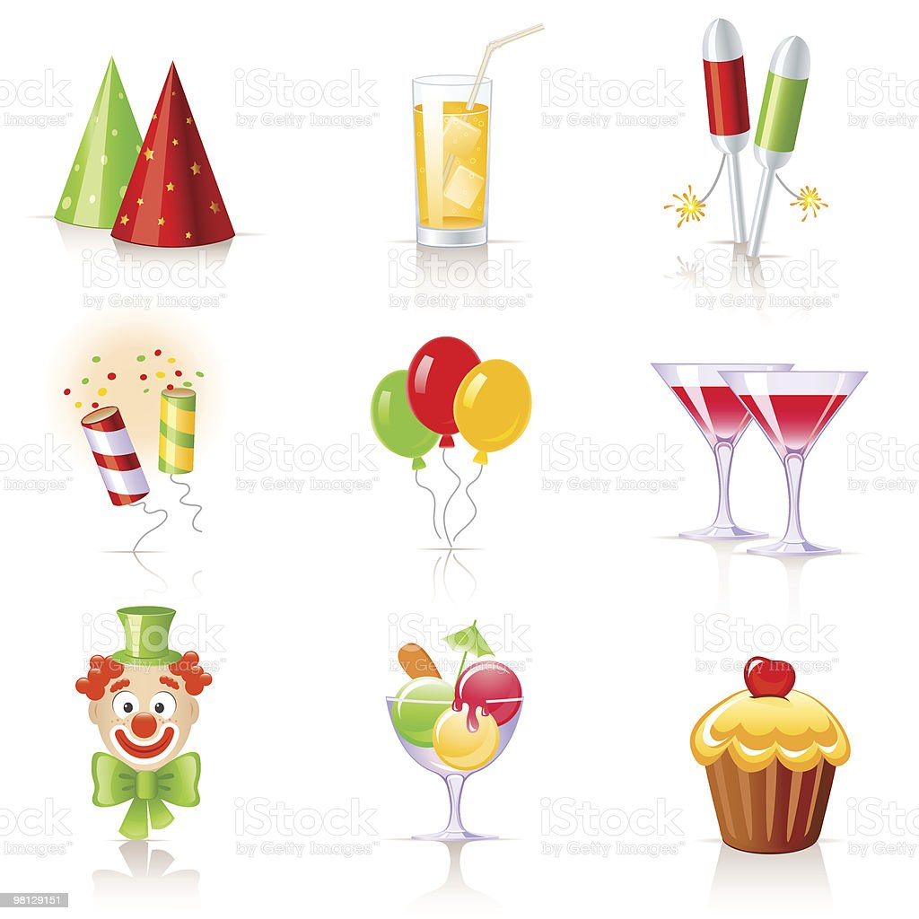 Birthday icons royalty-free birthday icons stock vector art & more images of alcohol