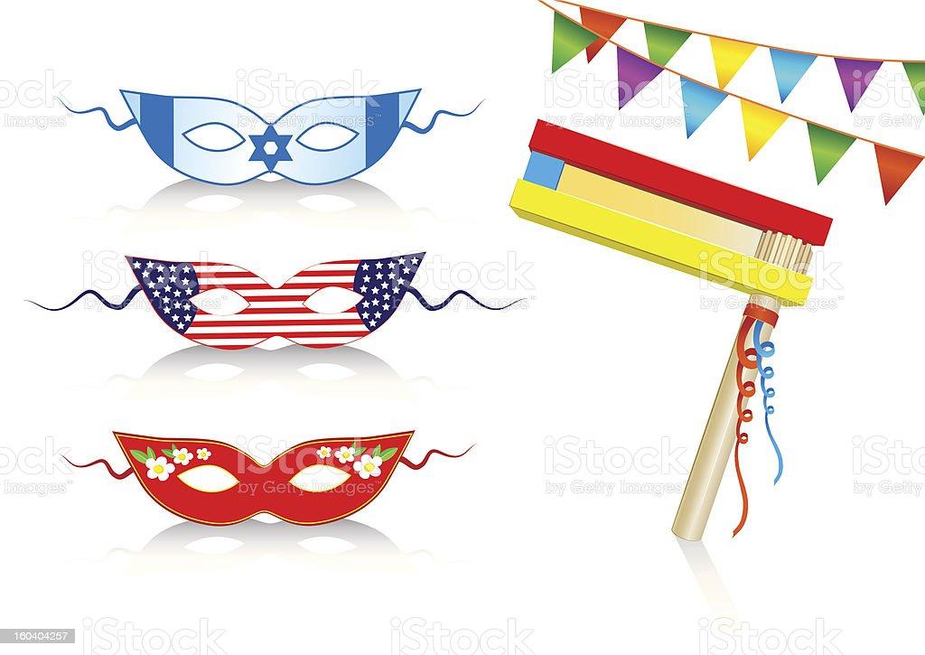 birthday international decorative elements royalty-free stock vector art