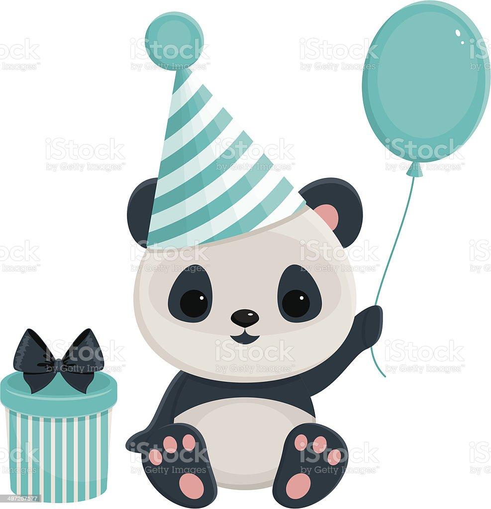 с днем рождения панда картинки