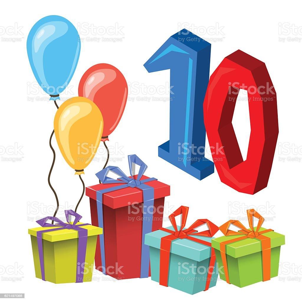 Modèle de carte Invitation à la fête d'anniversaire modèle de carte invitation à la fête danniversaire – cliparts vectoriels et plus d'images de anniversaire libre de droits