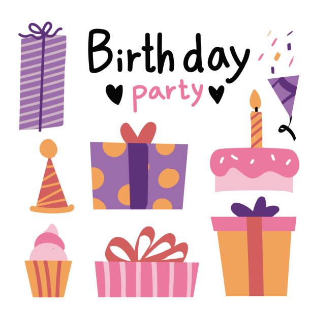 conception de vecteur de fête anniversaire - Illustration vectorielle