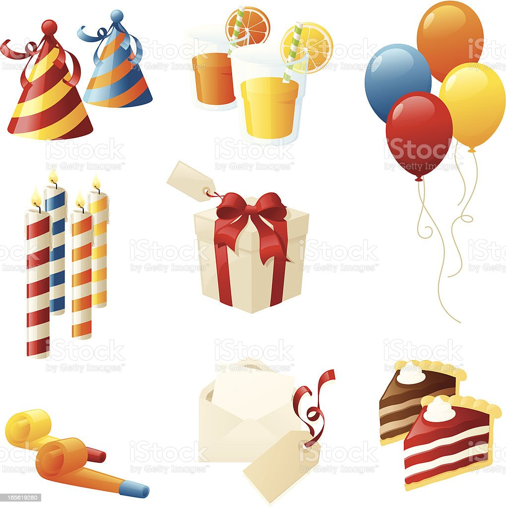 Birthday Party royalty-free stock vector art
