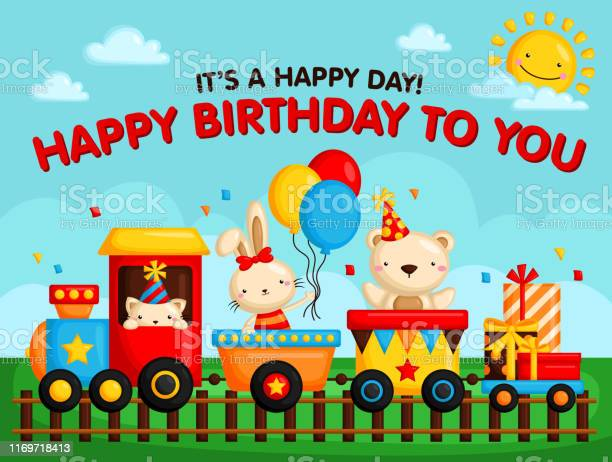 Birthday train card vector id1169718413?b=1&k=6&m=1169718413&s=612x612&h=i  x6c4dojcy7acco192vhp3lb1gsnjizgun2uunzak=