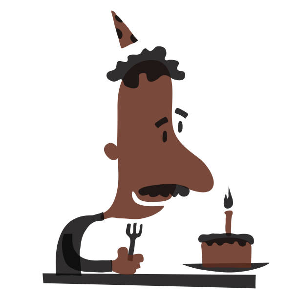 D'anniversaire  - Illustration vectorielle