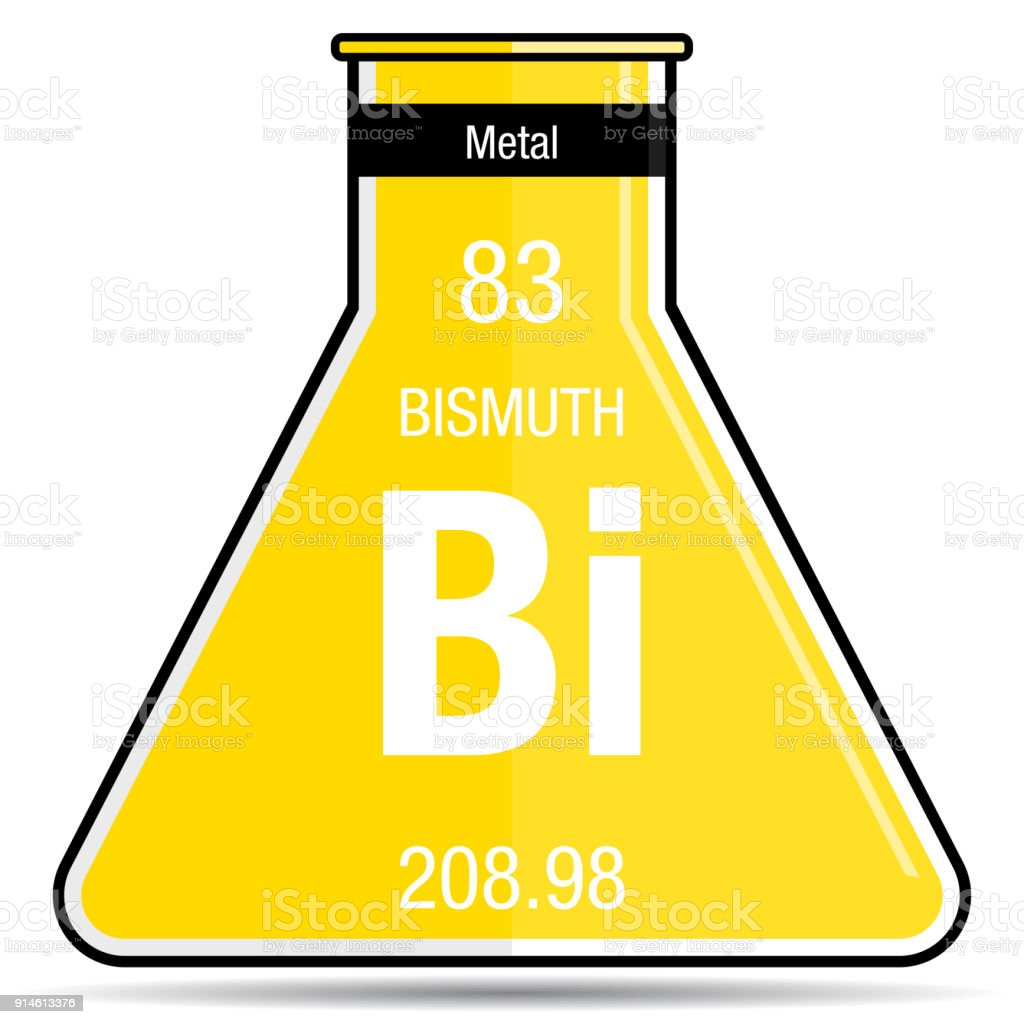 Bismuth symbol on chemical flask element number 83 of the periodic bismuth symbol on chemical flask element number 83 of the periodic table of the elements buycottarizona