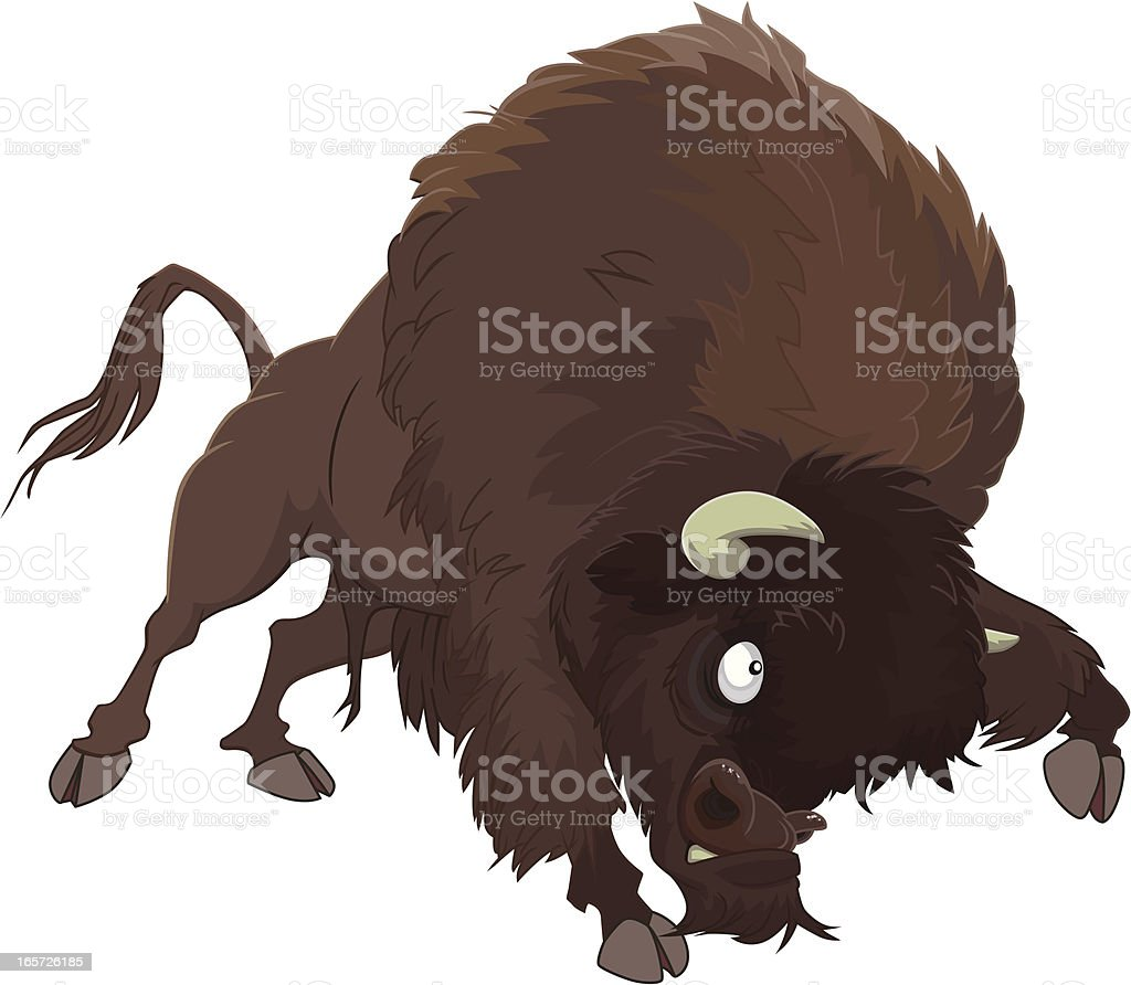 Bison royalty-free bison stock vector art & more images of american bison
