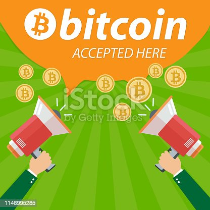 istock Bitcoin Accepted Here Ads 1146995285