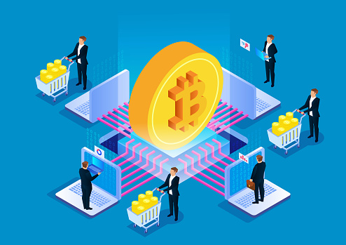 Bitcoin blockchain technology, digital currency mining