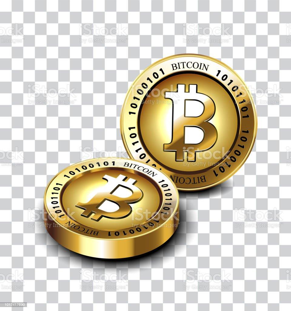 Bitcoin (BTC) Moneta in metallo in oro (placcato oro reale)