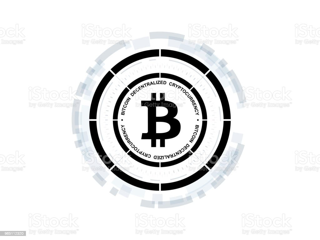 Bitcoin cryptocurrency vector illustration royalty-free bitcoin cryptocurrency vector illustration stock vector art & more images of abstract