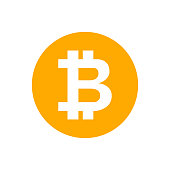 istock bitcoin currency coin orange for icon isolated on white, cryptocurrency bitcion money for app symbol, simple flat bitcoin money, currency digital bitcoin coin for financial concept 1218891322