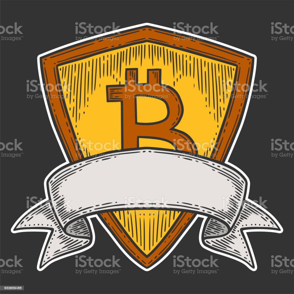 Bitcoin Growth And Increase Stock Vector Image Digital Currency