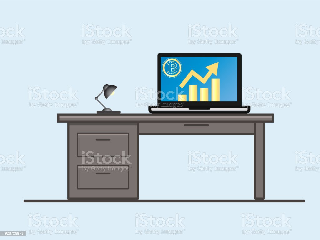 Laptop Screen Diagram Explained Wiring Diagrams Pa 12 Power Supply Schematic Schema Circuit Dell Pa12 19v Notebook Bitcoin With Growth On Stock Vector Art More Toshiba Source