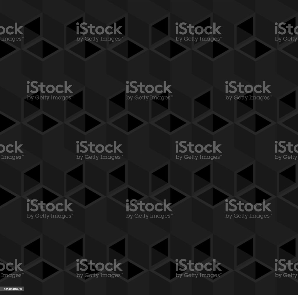 Black 3D cube illustration background. royalty-free black 3d cube illustration background stock vector art & more images of abstract