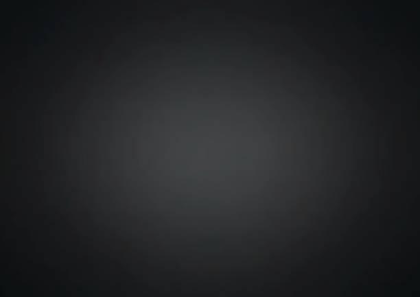 black abstract background - виньетка stock illustrations