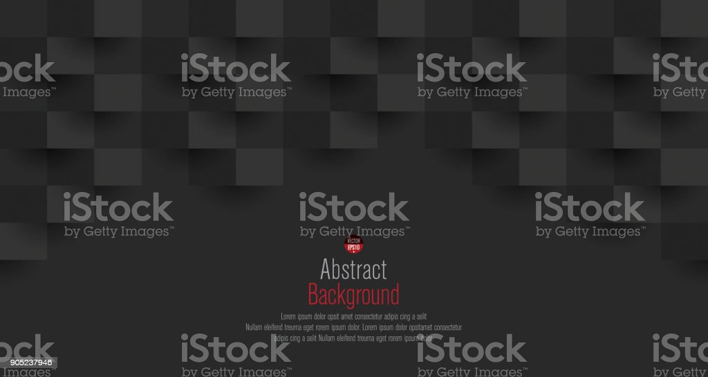 Zwarte abstracte achtergrond vector.vectorkunst illustratie