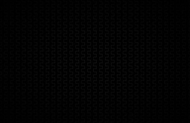 schwarzer abstrakten hintergrund mit grauen linien, moderne vektor-illustration - plüsch stock-grafiken, -clipart, -cartoons und -symbole