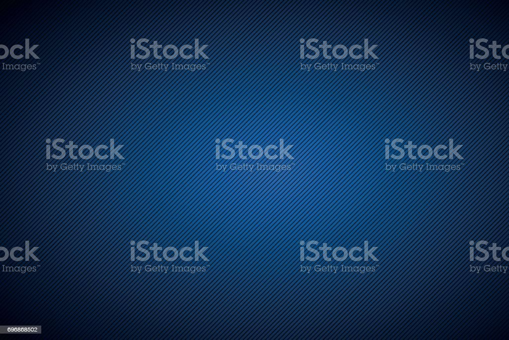 Zwarte en blauwe abstracte achtergrond met diagonale lijnen, vectorillustratievectorkunst illustratie