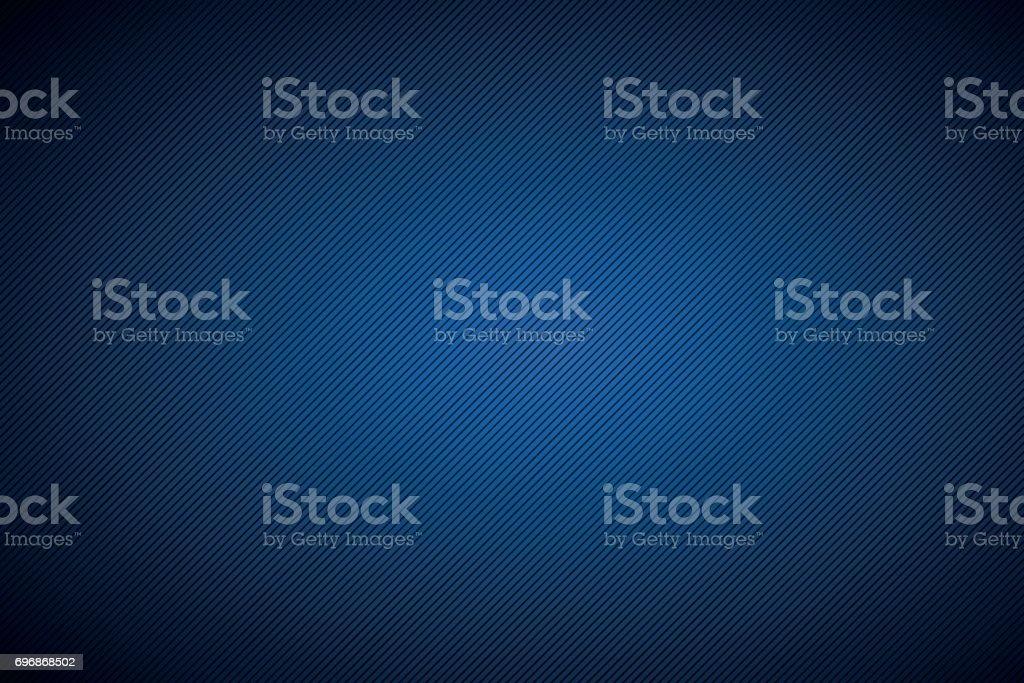 Black and blue abstract background with diagonal lines, vector illustration - ilustração de arte vetorial