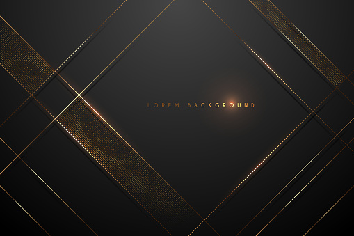 black and gold abstract background clipart