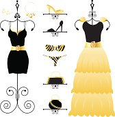 Black and Gold Fashion