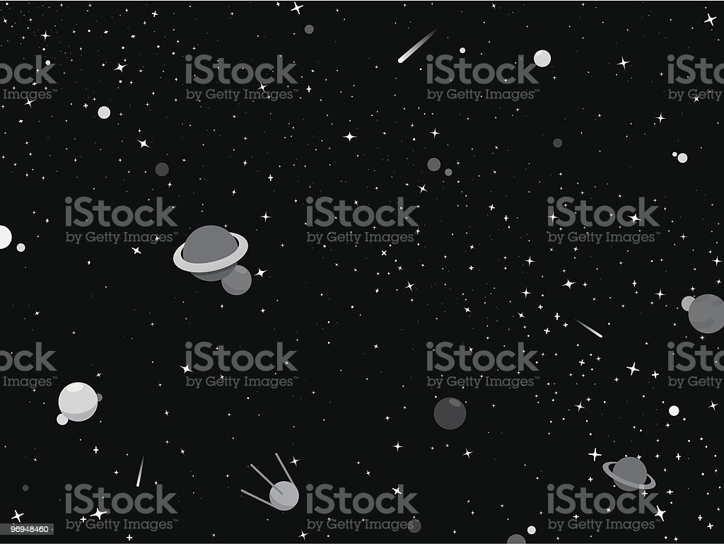 Black and gray outer space background royalty-free black and gray outer space background stock vector art & more images of asteroid