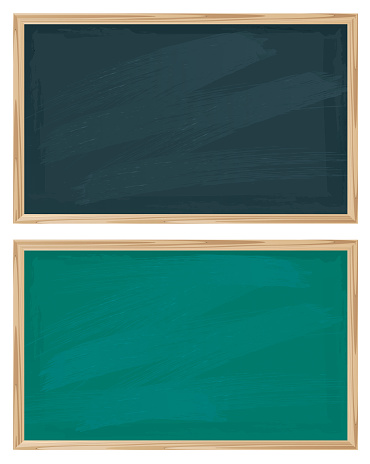 Black and Green chalkboards