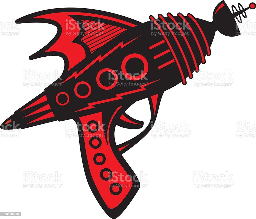 royalty free laser gun clip art vector images illustrations istock rh istockphoto com