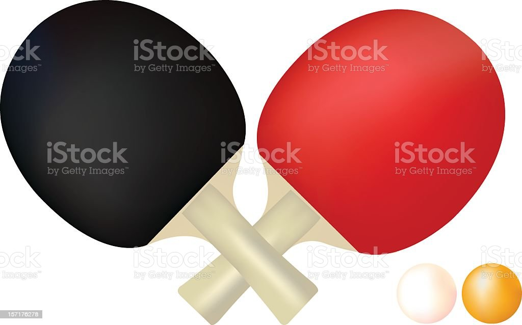 Black and red tablet tennis set royalty-free black and red tablet tennis set stock vector art & more images of ball