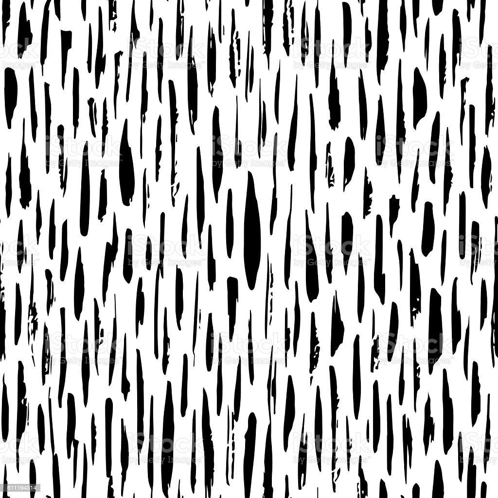 Bianco E Nero Motivo Senza Interruzioni Astratto Disegno A Mano