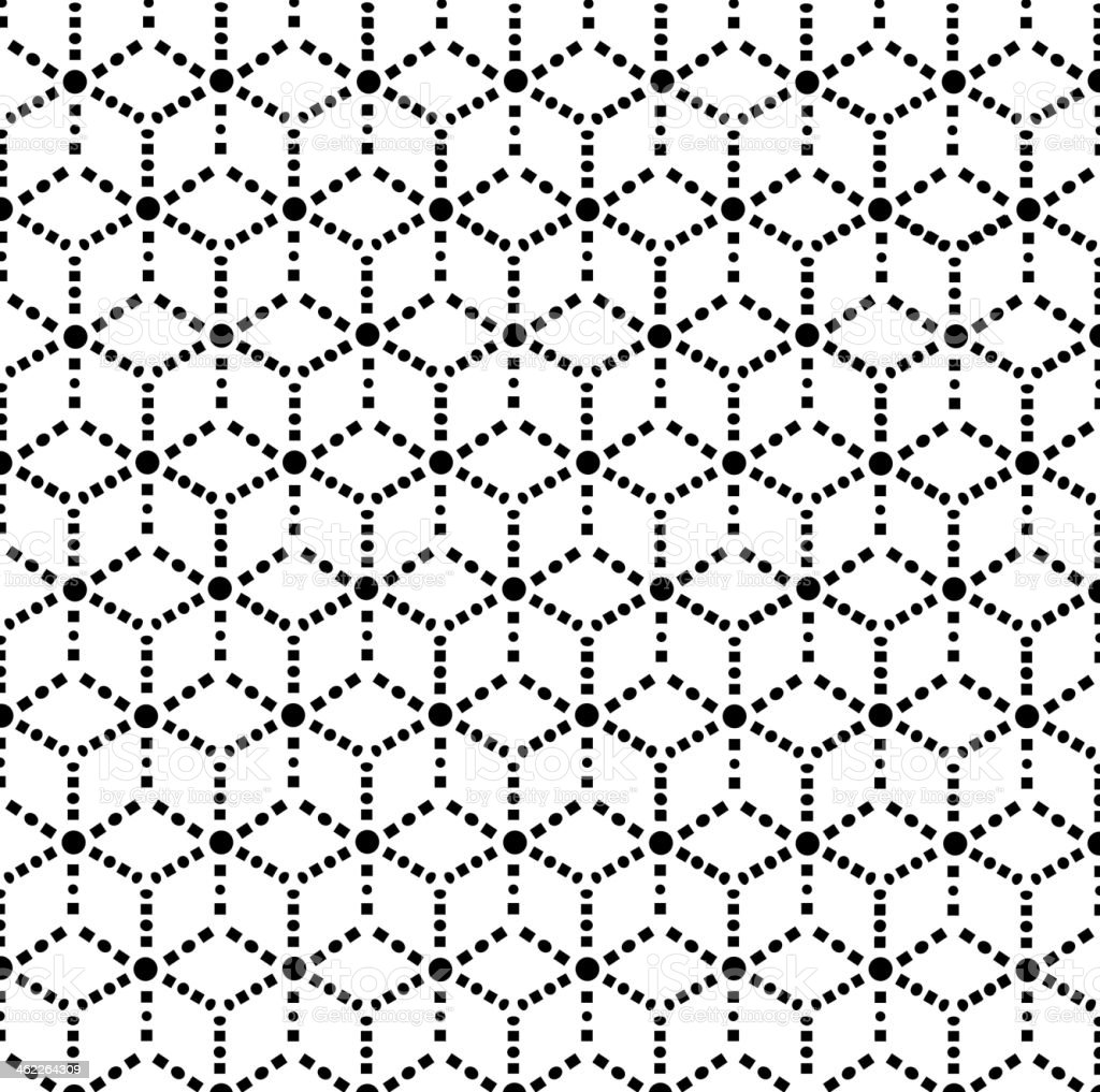black and white abstract pattern background vector art illustration