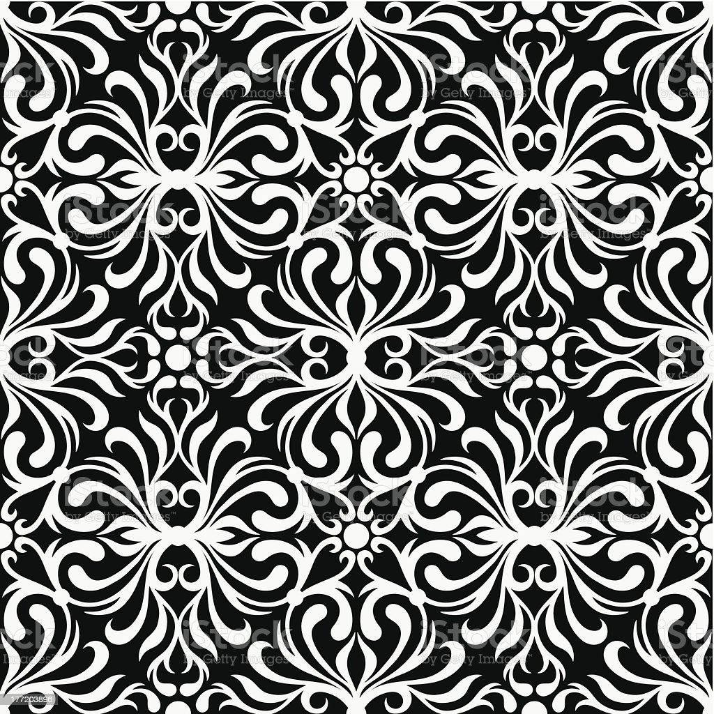 Black and white abstract seamless pattern. royalty-free black and white abstract seamless pattern stock vector art & more images of abstract