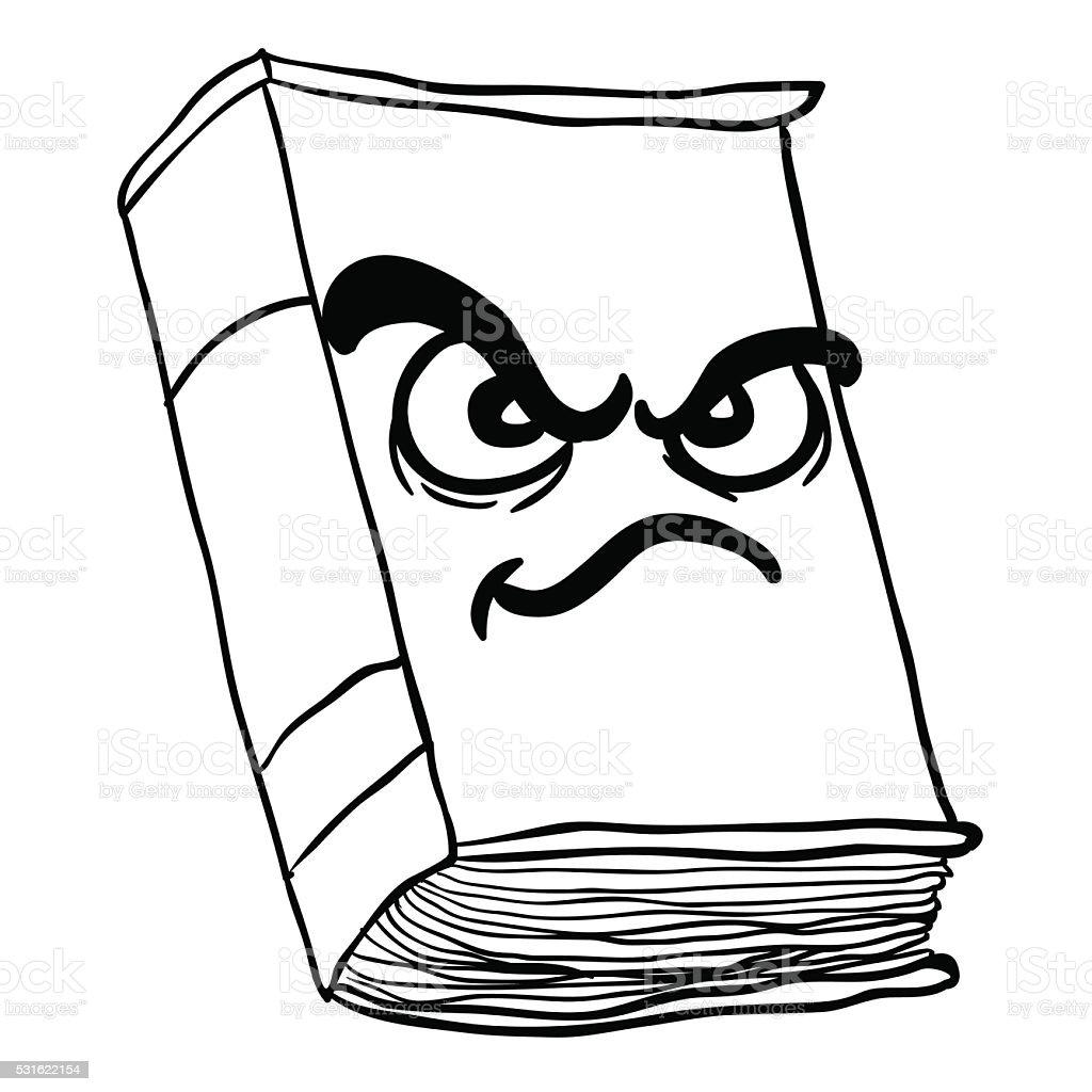 красная книга картинки черно белые