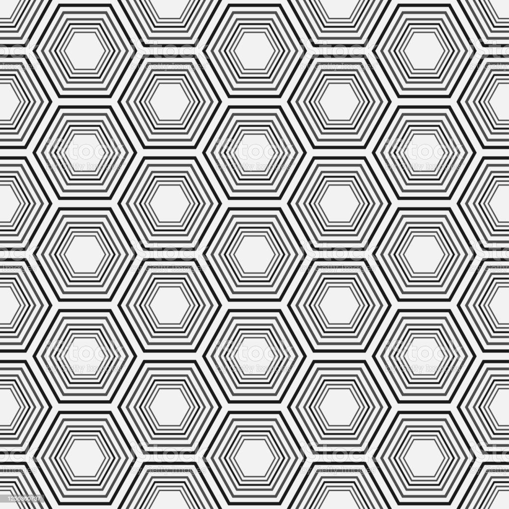 Black And White Background Pattern Seamless Pattern Geometric Background For Fabric Tile Interior Design Or Wallpaper Vector Background Image Stock Illustration Download Image Now Istock