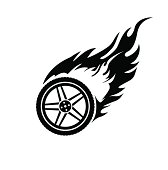 Tire With Flame furthermore Zebra Page Borders Clipart moreover Stock Photo Cartoon Of Man Falling Off His Bike Vector Version Available In Portfolio as well 407 Free Clipart Of A Fancy Floral Frame likewise Quarter Midget Decal Sticker GK20. on yellow race car clip art