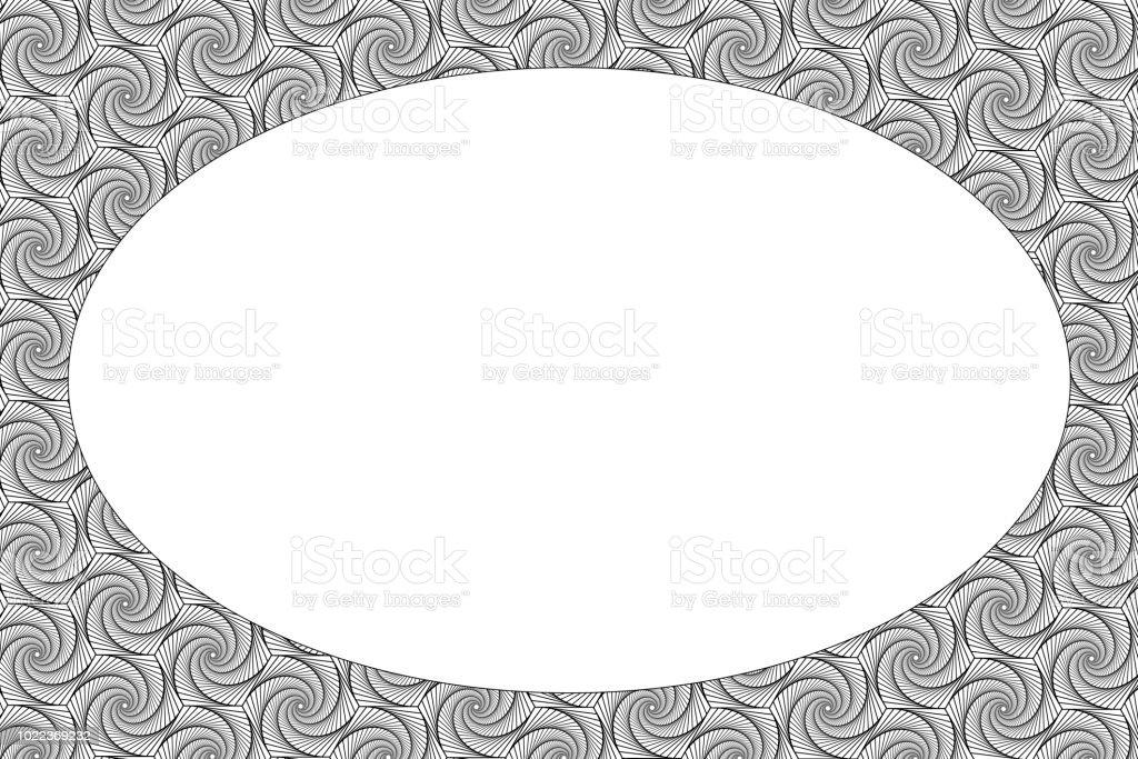 Modle De Carte Visite Noir Et Blanc Concept Design Vectoriel