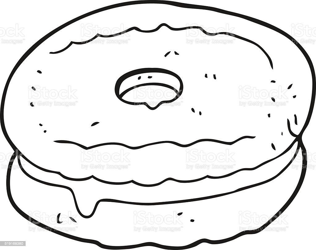 Preto E Branco Desenho De Biscuits Arte Vetorial De Stock E Mais