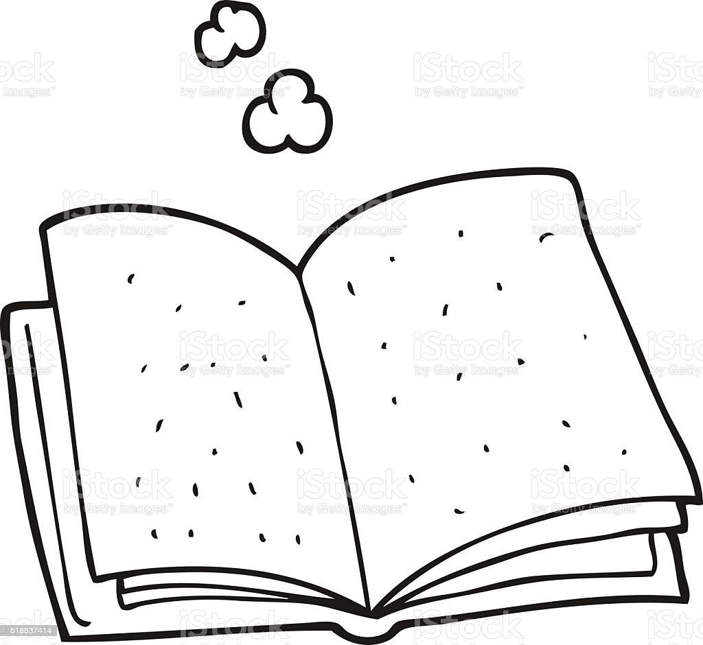 Vetores De Preto E Branco Desenho De Livro E Mais Imagens De Clip