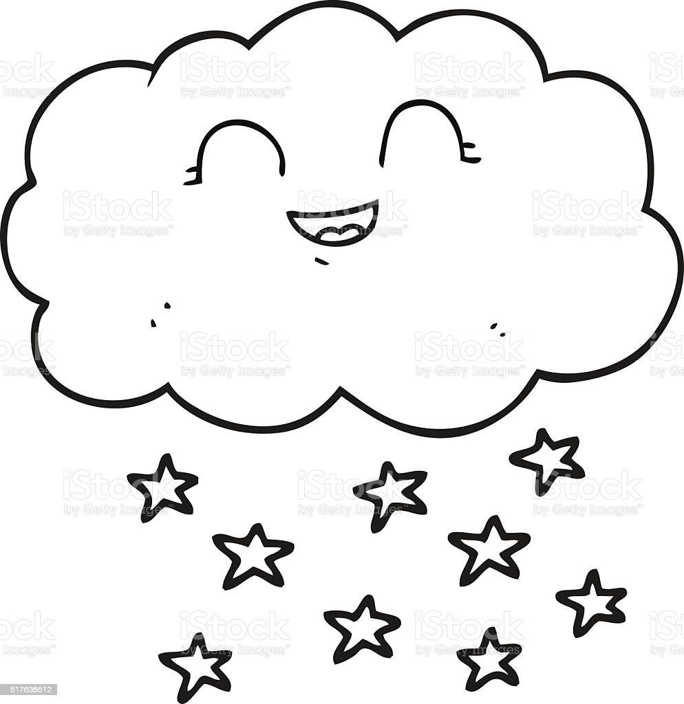 noir et blanc dessin nuage de neige noir et blanc dessin nuage de neige cliparts - Dessin De Nuage